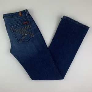 7 For All Mankind Flynt Bootcut Denim Jeans 29 32L
